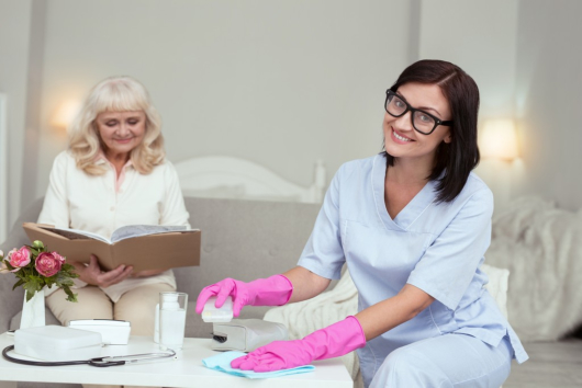 How Home Care Services Promote Healthy Aging